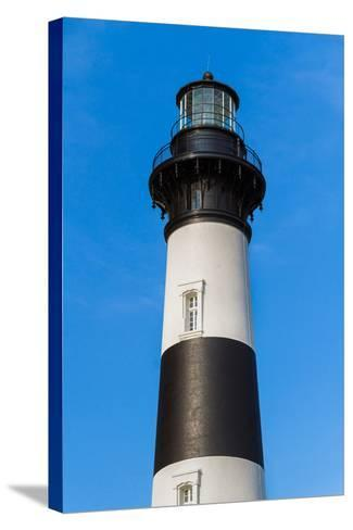Bodie Island Lighthouse Top-Kenneth Keifer-Stretched Canvas Print