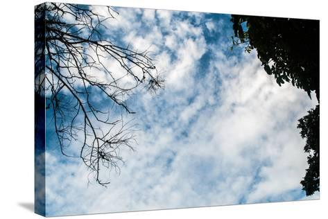 Beautiful Sky / Beautiful Evening Sky- thiraphon-Stretched Canvas Print