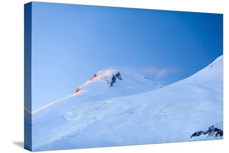 Mountains Beautiful Elbrus Landscape Russia-blas-Stretched Canvas Print
