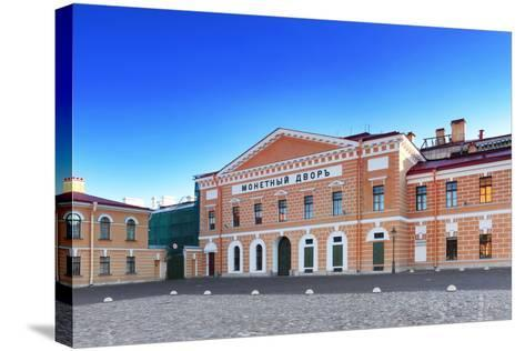 Mint - Peter and Pavel Fortress Area, Saint Petersburg.-Brian K-Stretched Canvas Print