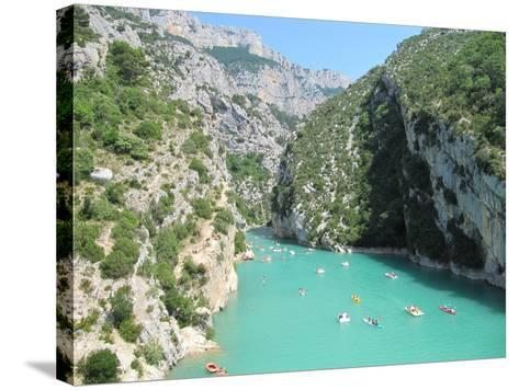 Verdon Schlucht- emotionpictures-Stretched Canvas Print