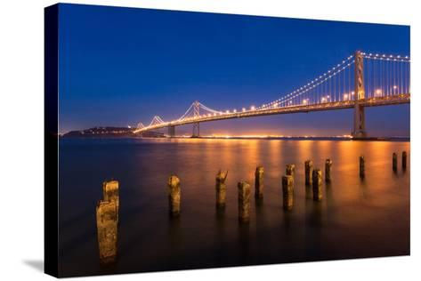 San Francisco Bay Bridge-nstanev-Stretched Canvas Print