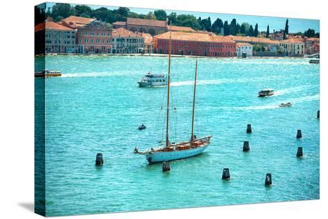 Grand Canal in Venice, Italy.-Vakhrushev Pavel-Stretched Canvas Print