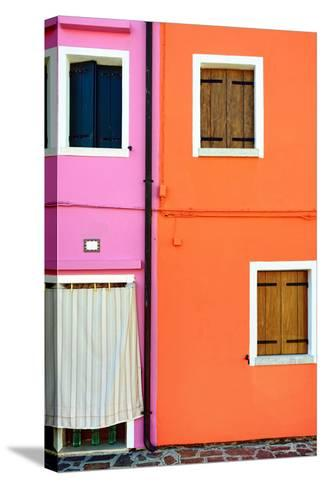 Burano Island, Venice-Oleg Znamenskiy-Stretched Canvas Print