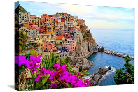 Cinque Terre, Italy-Jeni Foto-Stretched Canvas Print
