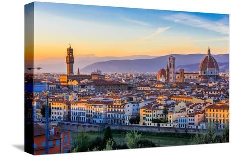 Florence, Italy-sorincolac-Stretched Canvas Print