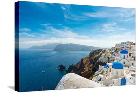 Santorini,Greece-Pavel Timofeev-Stretched Canvas Print