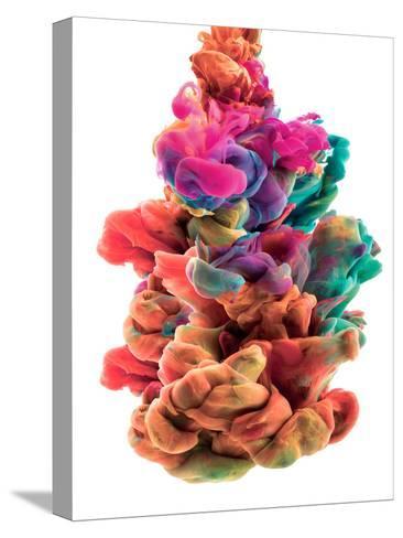 Colorful Color Drop-sanjanjam-Stretched Canvas Print