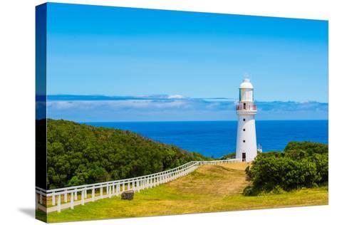 Cape Otway Lighthouse- superjoseph-Stretched Canvas Print