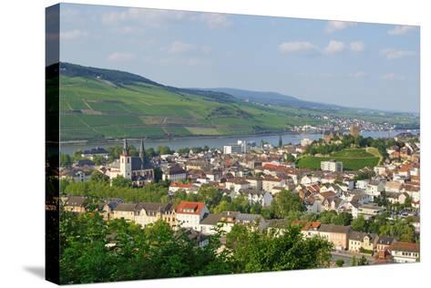 Bingen Am Rhein - Rüdesheim Im Hintergrund-DOC RABE Media-Stretched Canvas Print