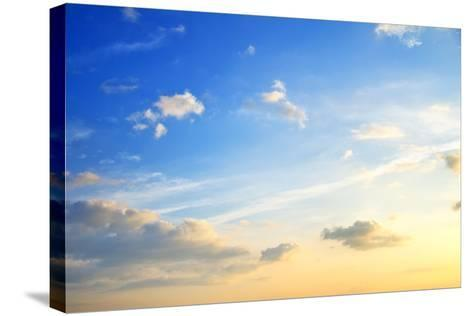 Sunset-tycoon101-Stretched Canvas Print