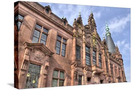 Heidelberg University, Germany-Jan Kranendonk-Stretched Canvas Print