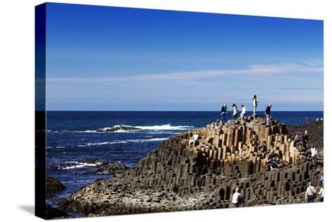 The Famous Giant's Causeway of Northern Ireland-Bartkowski-Stretched Canvas Print