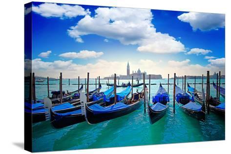 Venice Italy-twindesigner-Stretched Canvas Print