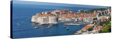 Dubrovnik, Croatia, Panorama of the Medieval City- frederic49-Stretched Canvas Print