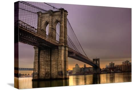 Brooklyn Bridge - New York City, Ny, USA-EvanTravels-Stretched Canvas Print