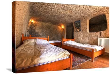 Cave Hotel Room-EvanTravels-Stretched Canvas Print