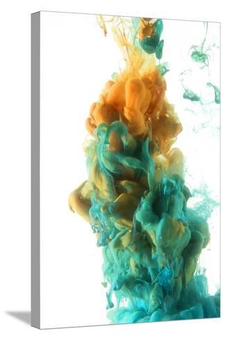 Color Drop-sanjanjam-Stretched Canvas Print