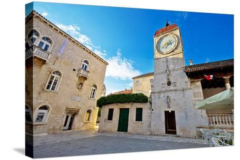 UNESCO Town of Trogir Square-xbrchx-Stretched Canvas Print