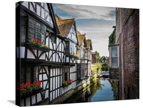 Canterbury River-LevT-Stretched Canvas Print