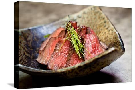 Japanese Beef-EvanTravels-Stretched Canvas Print