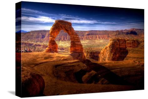 Delicate Arch HDR - Utah, USA-EvanTravels-Stretched Canvas Print