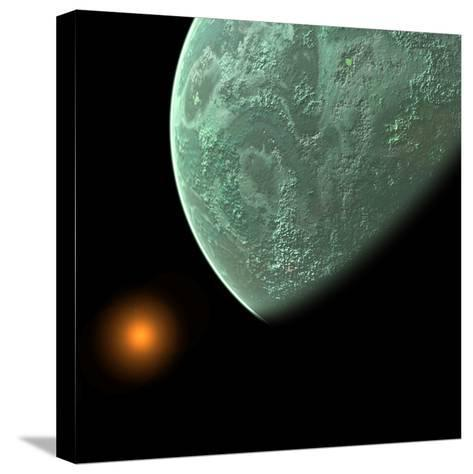 Planet- Dave-Stretched Canvas Print