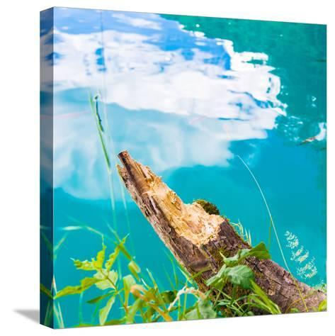 Plitvice Lakes National Park, the Largest National Park in Croatia, UNESCO World Heritage-siempreverde22-Stretched Canvas Print