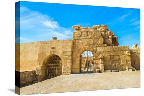 Roman Ruins of Palmyra, Syria. UNESCO World Heritage-siempreverde22-Stretched Canvas Print