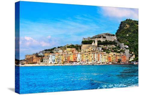 Portovenere - Liguria Italy-Alberto Masnovo-Stretched Canvas Print