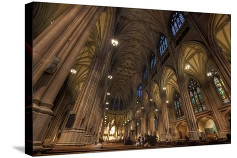 Interior of St Patrick's Cathedral, Manhattan-EvanTravels-Stretched Canvas Print