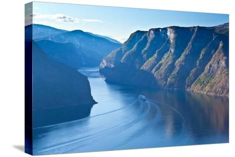 Norway - Fjord Region-berzina-Stretched Canvas Print