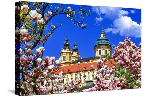 Benedictine Abbey in Melk, Austria-Freesurf-Stretched Canvas Print
