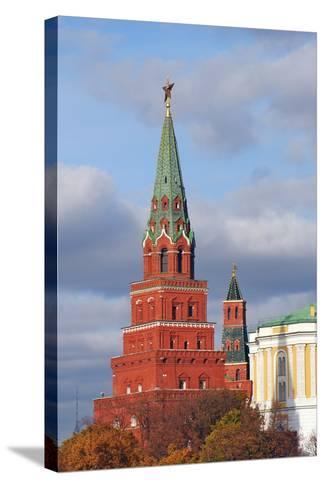 Moscow Kremlin. UNESCO World Heritage Site.-Ekaterina Bykova-Stretched Canvas Print