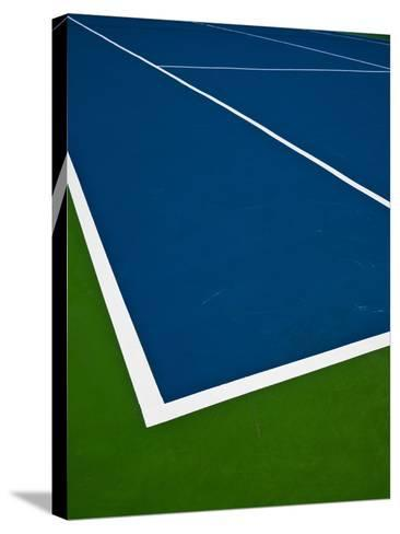 Tennis Court- photosquared-Stretched Canvas Print