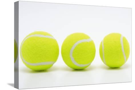 Tennis Balls-bao-Stretched Canvas Print