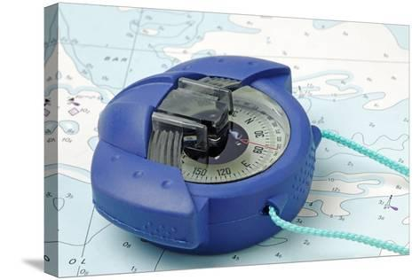 Hand Bearing Compass-roger ashford-Stretched Canvas Print