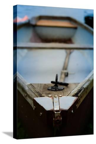 Old Rowing Boat-Mr Doomits-Stretched Canvas Print