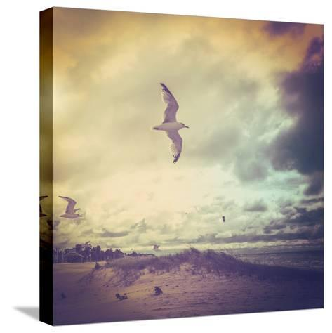 Stormy Day-soupstock-Stretched Canvas Print