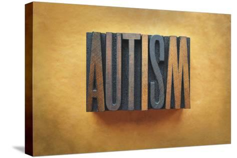 Autism-enterlinedesign-Stretched Canvas Print