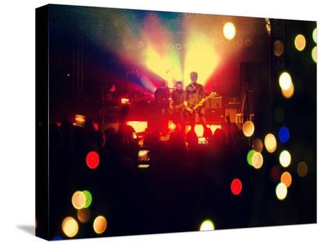 A Concert Shot-graphicphoto-Stretched Canvas Print