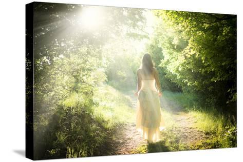 Walking Fairy-PetarPaunchev-Stretched Canvas Print