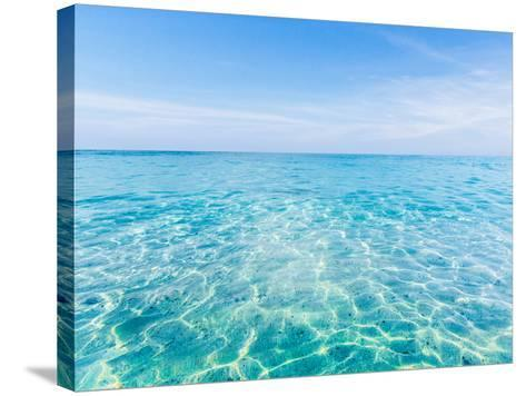 Crystal Clear Sea of Tropical Island-aiaikawa-Stretched Canvas Print