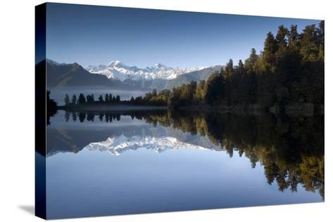 Lake Matheson, Mt Cook, New Zealand-PhotoImages-Stretched Canvas Print