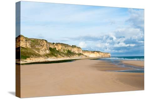 Omaha Beach , Normandy, France-Lemsip-Stretched Canvas Print