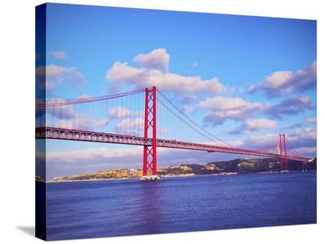 Bridge in Lisbon-Karol Kozlowski-Stretched Canvas Print