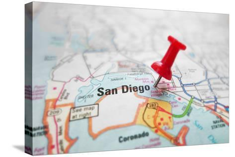 San Diego-zimmytws-Stretched Canvas Print