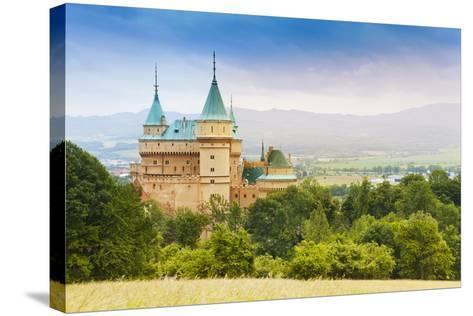 Beautiful Bojnice Castle-SerrNovik-Stretched Canvas Print