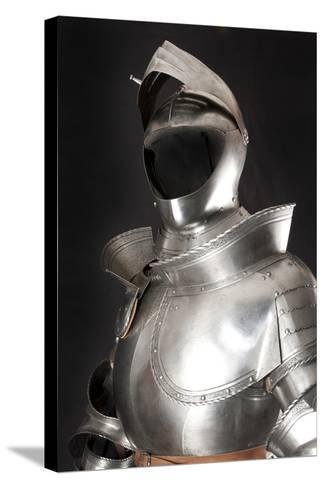 Armour-vis-Stretched Canvas Print