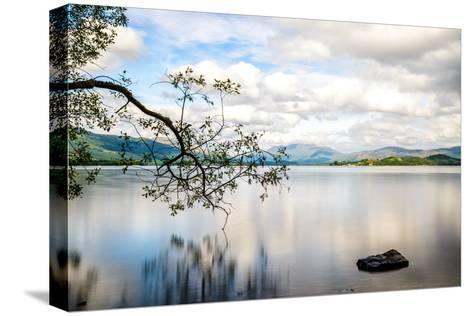 Loch Lomond, Scotland, UK-matthi-Stretched Canvas Print